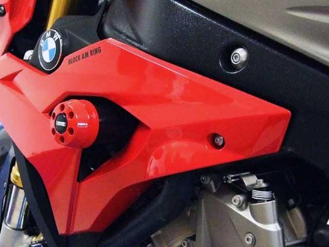P&A International パイツマイヤーカンパニー ガード・スライダー クラッシュパッド X-Pad(エックスパッド) カラー:アルミニウムシルバー S1000R