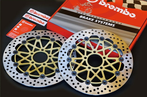 Brembo ブレンボ [Super Sport] フローティングディスク 左右セット Speed Triple Speed Triple R Speed Triple R 1050 Speed Triple S 1050