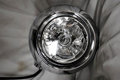 部品屋K&W ヘッドライト本体・ライトリム/ケース アイボールヘッドライト2 汎用