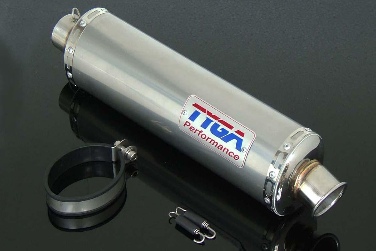 TYGA PERFORMANCE タイガパフォーマンス バッフル・消音装置 Silencer Assy. VFR400R NC30/ RVF400 NC35