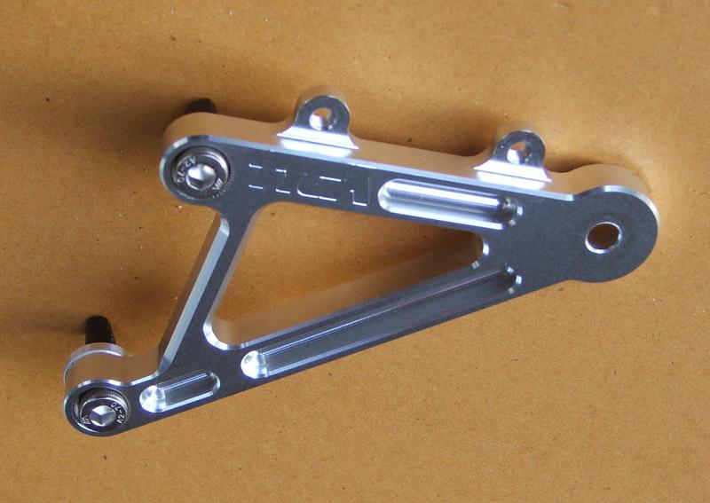 TYGA PERFORMANCE タイガパフォーマンス バックステップ タイガステップキット用 交換用左サイドハンガー MC18 NSR250R
