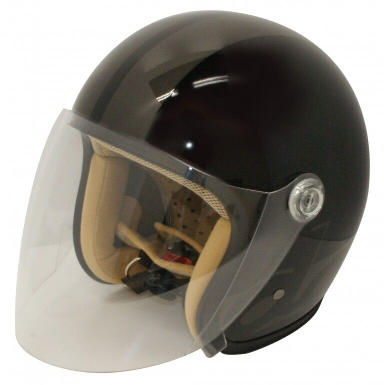 DAMMTRAX ダムトラックス ジェットヘルメット JET-S DAMM&RAX[ジェットエス ダム&ラックス] ヘルメット カラー:ブラック/ガンメタル