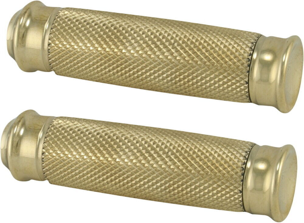 TODD'S CYCLE トッズサイクル フットペグ・ステップ・フロアボード FOOTPEGS VICE BRASS [1620-0568]