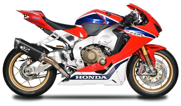 SPARK EXHAUST スパーク マフラー FULL SYSTEM - S.STEEL COLLECTORS + FORCE SILENCER フルエキゾーストマフラー CBR 1000 RR (17-18)