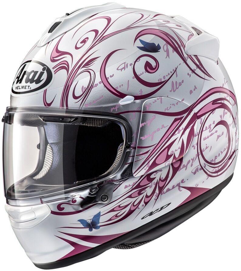 Arai アライ フルフェイスヘルメット VECTOR-X STYLE PINK [ベクターX スタイル ピンク] ヘルメット サイズ:L(59-60cm)