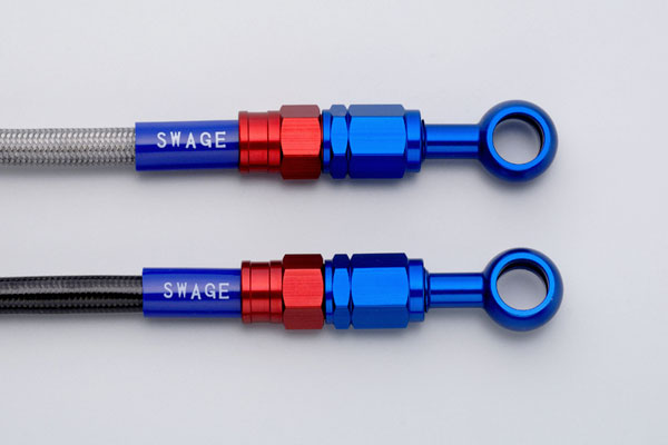 SWAGE-LINE スウェッジライン フロント ブレーキホースキット ホースの長さ:標準 ホースカラー:クリア CRF250L [MD38](13-17)