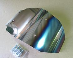 dB's ディービーズ ガード・スライダー チタンアンダーガードファイア XT250全年式