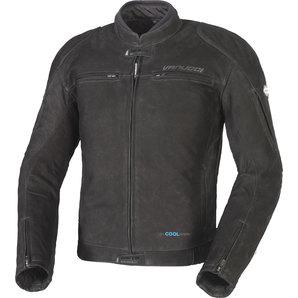 Vanucci ヴァヌッチ レザージャケット NUBUK LEATHER JACKET BLACK, TFL COOL Size:54