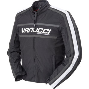 Vanucci ヴァヌッチ ナイロンジャケット RVX 3 TEXTILE JACKET BLACK Size:50
