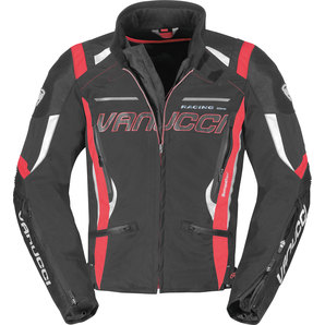 Vanucci ヴァヌッチ ナイロンジャケット RVX TEXTILE JACKET BLACK/GREY Size:58