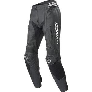 パンツ・ボトムス Vanucci ヴァヌッチ 20617358  Vanucci ヴァヌッチ レザーパンツ ART XVII COMBI PANTS, BLACK Size:58