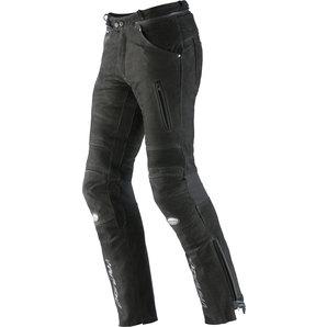 Vanucci ヴァヌッチ レザーパンツ NUBUK LEATHER PANT BLACK Size:56