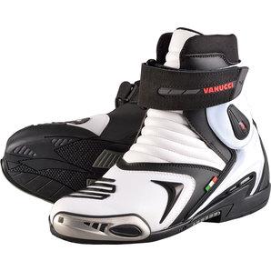 Vanucci ヴァヌッチ オンロードブーツ RV7 BLACK/WHITE MICROFIBRE Size:42