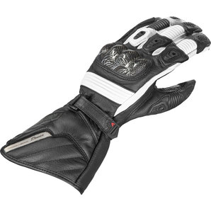 Vanucci ヴァヌッチ 3シーズングローブ COMP.DONNA III GLOVES, BLACK/WHITE Size:S