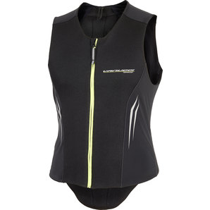 Vanucci ヴァヌッチ 脊椎プロテクター・バックプロテクター MENS VEST BACK PROTECTOR,BLK/NEON Size:XXL