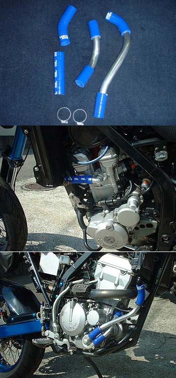 RADICAL ラジカル フィッティング・ホース関連 TUBE SUPPLY ウォーターラインシステム カラー:レッドアルマイト D-TRACKER [Dトラッカー]