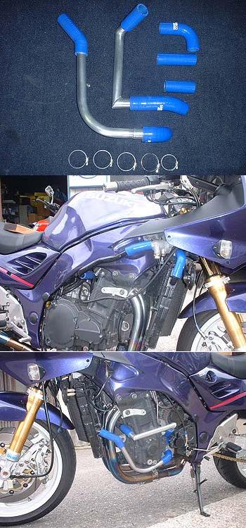 RADICAL ラジカル フィッティング・ホース関連 TUBE SUPPLY ウォーターラインシステム カラー:ブラックアルマイト RF900 R