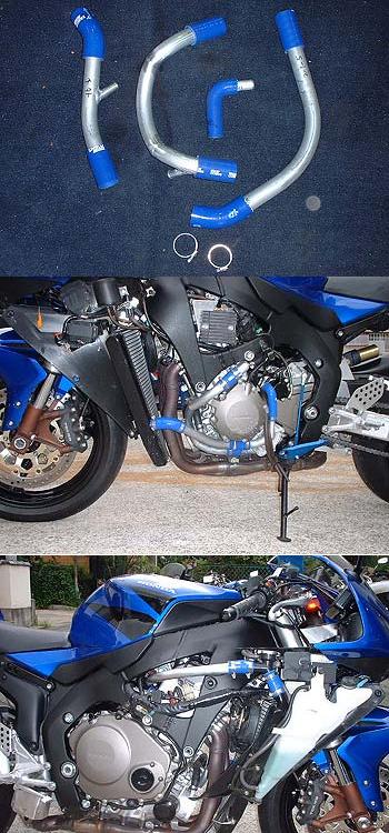 RADICAL ラジカル フィッティング・ホース関連 TUBE SUPPLY ウォーターラインシステム カラー:ブルーアルマイト CBR1000RR FIRE BLADE [ファイアブレード]