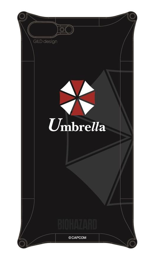【ポイント5倍開催中!!】GILD design ギルドデザイン その他グッズ BIOHAZARD Solid for iPhone7Plus 【Umbrella モデル】
