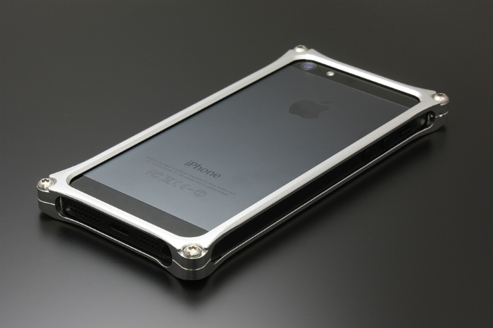 GILD design ギルドデザイン その他グッズ ソリッドバンパー for iPhone SE/5s/5 カラー:ポリッシュ