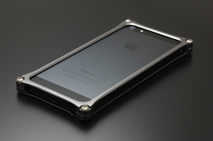 GILD design ギルドデザイン その他グッズ ソリッドバンパー for iPhone SE/5s/5 カラー:グレー