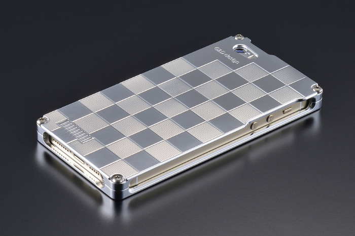GILD design ギルドデザイン その他グッズ 市松 for iPhone SE/5s/5 カラー:ポリッシュ