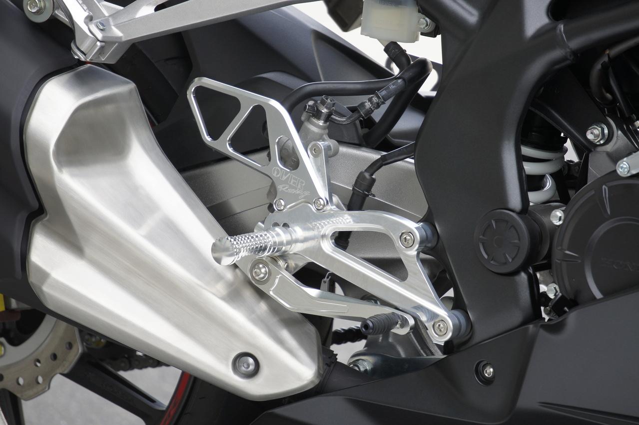 年製 新品 Over オーヴァー Cbr250rr 17 4ポジション バックステップ ステップ フットペグ L21 Mx
