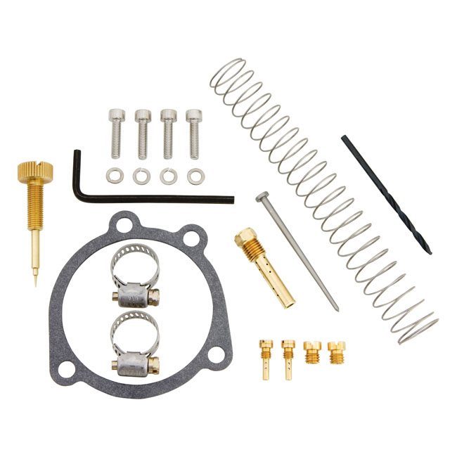 CV PERFORMANCE シーブイパフォーマンス その他キャブレター関連 DELUXE TUNERS KIT FOR CV CARB 04-06 XL1200(NU)
