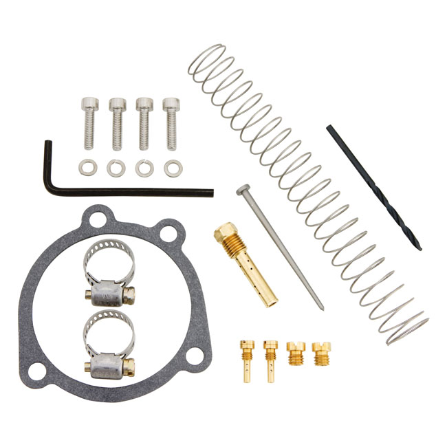 CV PERFORMANCE シーブイパフォーマンス その他キャブレター関連 チューナーキット CVキャブレター【TUNERS KIT FOR CV CARB】 89-03 XL1200(NU)
