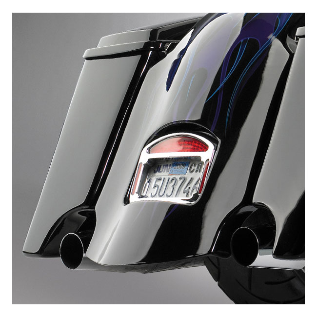 CYCLE ELECTRIC サイクルエレクトリック サイクルビジョン リアフェンダー カットアウト付き【CYCLE VISIONS REAR FENDER WITH CUTOUTS】 97-08 FLT FLHT TOURING(NU)