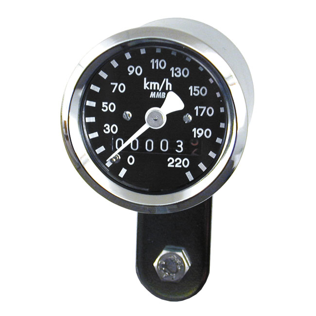 MMB エムエムビー スピードメーター ULTRA MINI SPEEDO - 1:1 MPH COLOR:BLACK 67-83 FLFX TRANSMISSION DRIVE