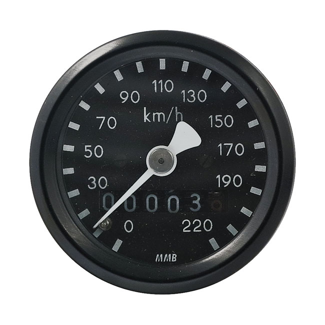 MMB エムエムビー スピードメーター ウルトラミニ スピードメータ 1:1比 ベーシック【ULTRA MINI SPEEDO 1:1 RATIO BASIC】