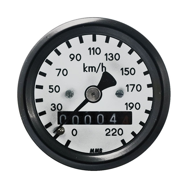 MMB エムエムビー スピードメーター ウルトラミニ スピードメータ 2:1比 ベーシック【ULTRA MINI SPEEDO 2:1 RATIO BASIC】 HD MOST FRONT WHEEL DRIVE APPLICATIONS