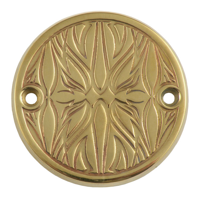 WEALL ウィオール エンジンカバー ブラス ポイントカバー【BRASS POINT COVER】 TYPE:HIRO 70-99(NU)B.T. (excl. TC); 71-17 XL (excl. 08-12(NU)XR1200)