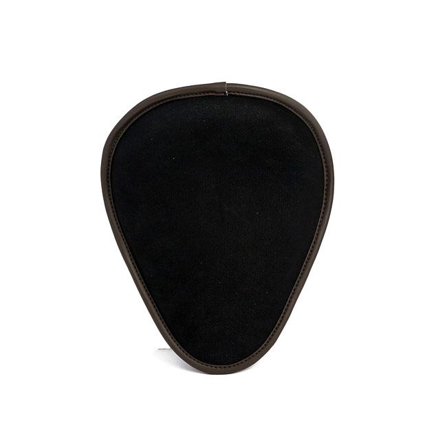 LA ROSA DESIGN ラローサデザイン シート本体 13 INCH BAD ASS SOLO SEAT COLOR:BLACK CANVAS