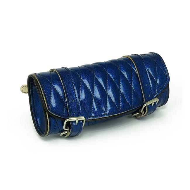 LA ROSA DESIGN ラローサデザイン 工具袋 メタルフレークツールバッグ【METAL FLAKE TOOL BAG】 COLOR:BLUE VINYL