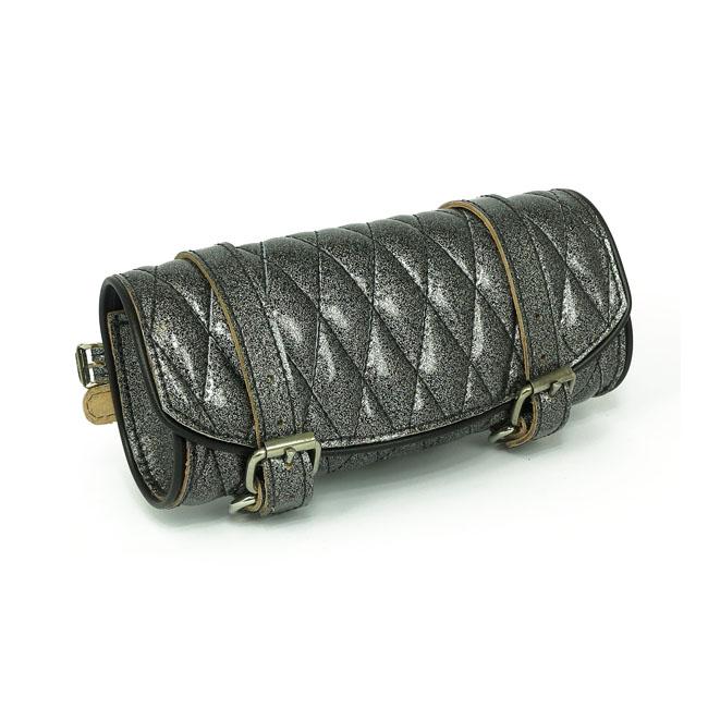 LA ROSA DESIGN ラローサデザイン 工具袋 メタルフレークツールバッグ【METAL FLAKE TOOL BAG】 COLOR:BLACK VINYL