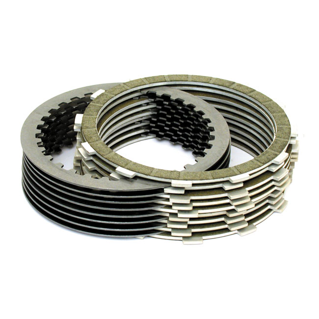 BELT DRIVES LTD. ベルトドライブ クラッチ KEVLAR CLUTCH PLATE KIT 98-16 B.T. (EXCL. 15-16 B.T. WITH A&S CLUTCH)