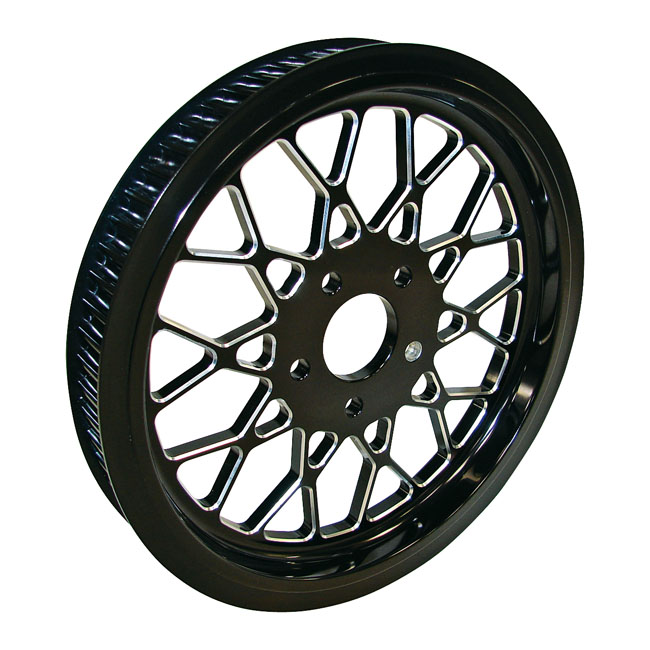 BELT DRIVES LTD. ベルトドライブ プーリー関連 1-1/2 INCH PULLEY 65T MESH 99-16 TWIN CAM (EXCL. 08-16 TOURING)