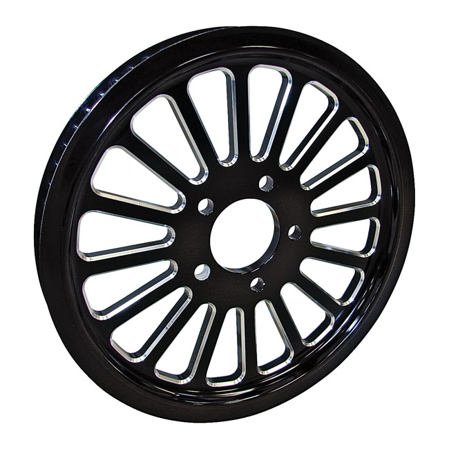 BELT DRIVES LTD. ベルトドライブ プーリー関連 1-1/2 INCH PULLEY 70T XVI SPOKE 99-16 TWIN CAM (EXCL. 08-16 TOURING)