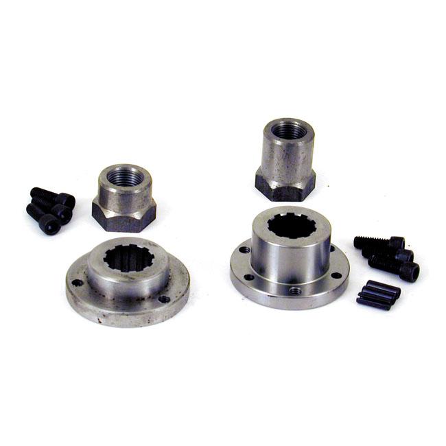 "Belt Drives Ltd 1 1//2/"" Front Pulley Offset /& Nut IN-1500"