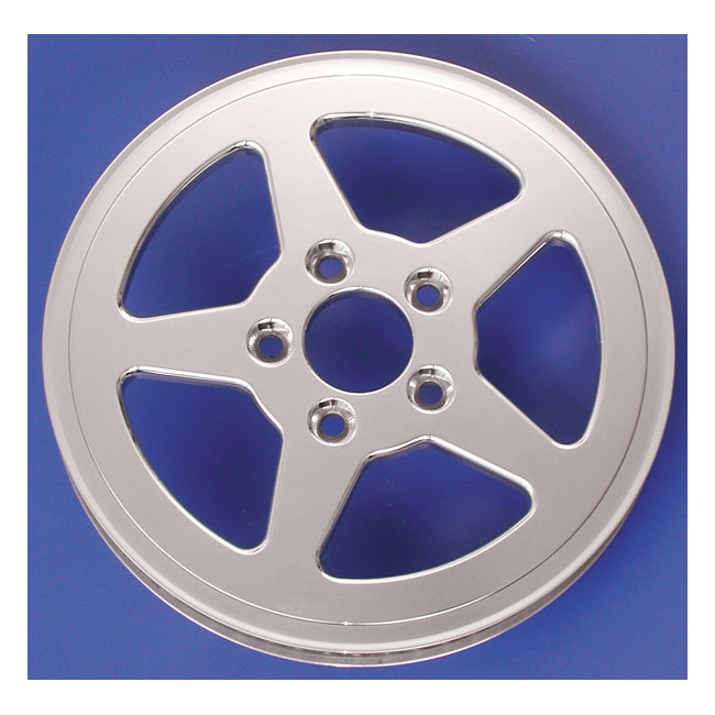 BELT DRIVES LTD. ベルトドライブ プーリー関連 REAR PULLEY 61T 1-1/8 INCH 5-SPOKE UPTO 1999 H-D (EXCL. TC)(NU)