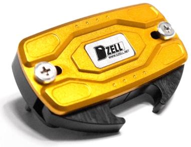 【在庫あり】Dzell ディーゼル その他電装パーツ USB TWO ポート カラー:ゴールド ヤマハ車両 ラージリザーブタンクサイズ/アフリカツイン/スーパーフォア/ボルドール/一部