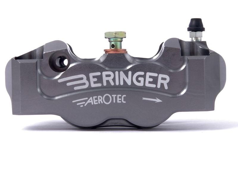 BERINGER ベルリンガー 4Pラジアルキャリパー カラー:チタン MONSTER1200 [モンスター](14) Ninja H2(16-17) R nine T(14-17) S1000RR(15-17) ZX-10R(16-17)