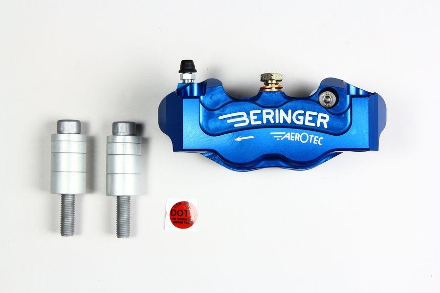 BERINGER ベルリンガー 4Pキャリパー カラー:ブルー MONSTER1200 [モンスター](09-14) Ninja H2(16-17) R nine T(14-17) S1000RR(15-17) ZX-10R(16-17)