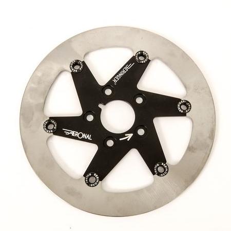 BERINGER ベルリンガー ディスクローター AERONAL DISC (エアロナルディスク) ステンレスローター カラー:チタン 左用 00-