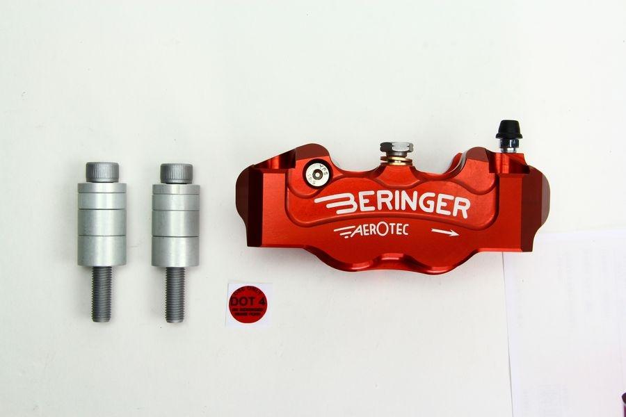 BERINGER ベルリンガー 4Pラジアルキャリパー MONSTER1200 [モンスター](14) Ninja H2(16-17) R nine T(14-17) S1000RR(15-17) ZX-10R(16-17)