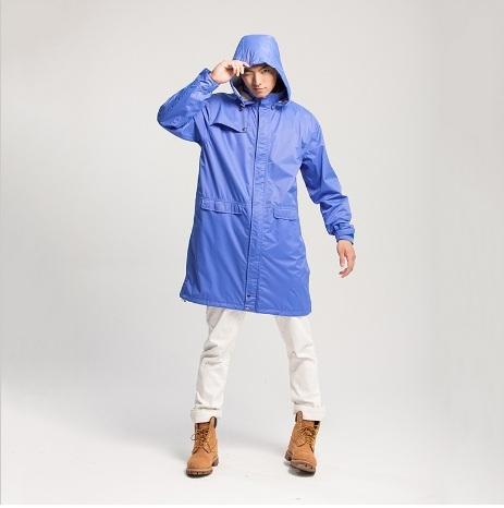 MORR モーア レインウェア LoRain ロングフード防水 ジャケット サイズ:L