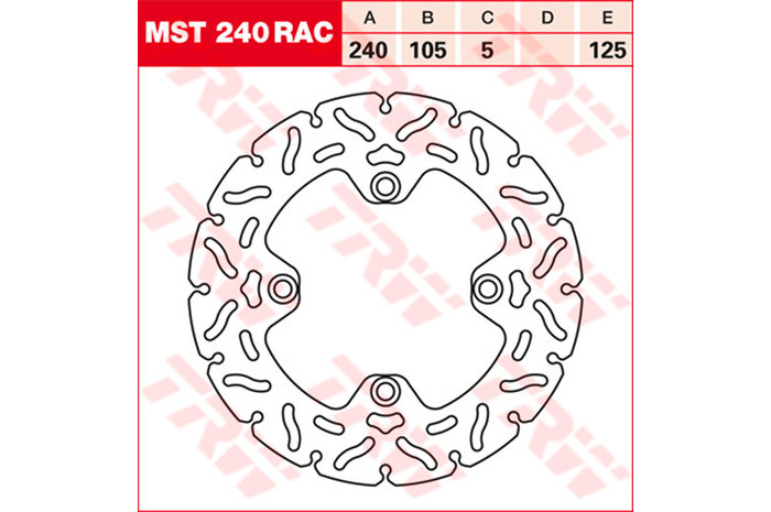 TRW ティーアールダブル BRAKE-DISCS RACING [MST240RAC2]