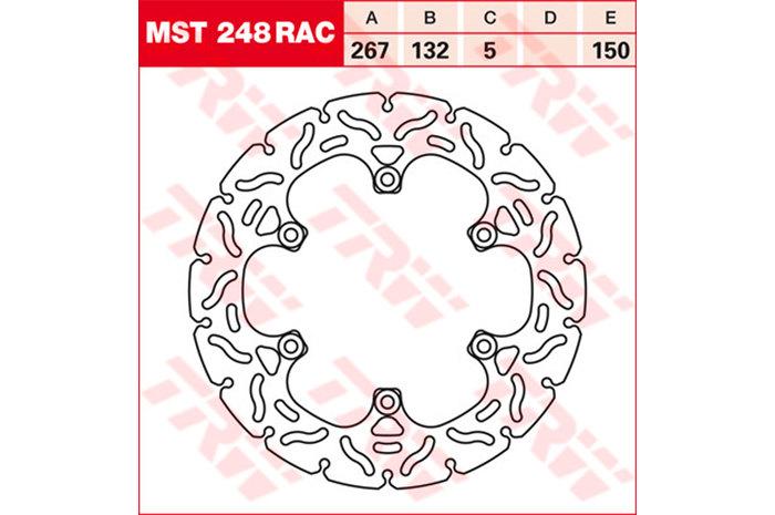 TRW ティーアールダブル BRAKE-DISCS RACING [MST248RAC2]
